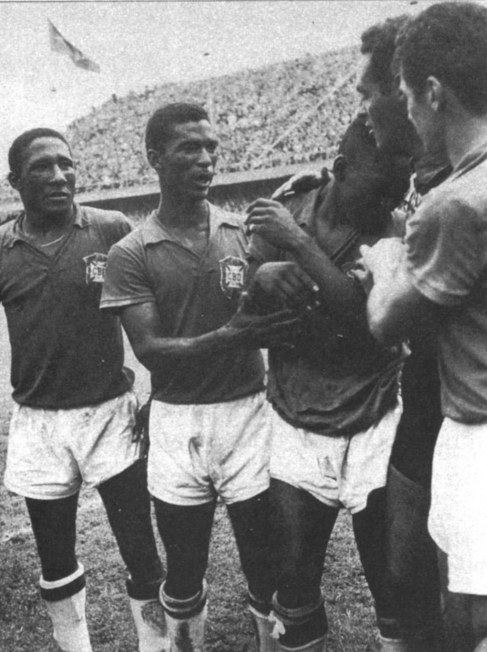 Football Players Hot s Djalma Santos